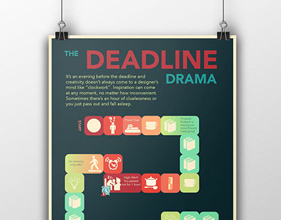 The Deadline Drama - Infographic