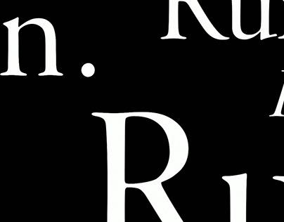 Run - Main Title Sequence