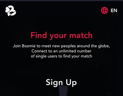 Bozmie - Dating Application