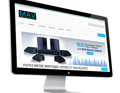 Ecommerce website MAV