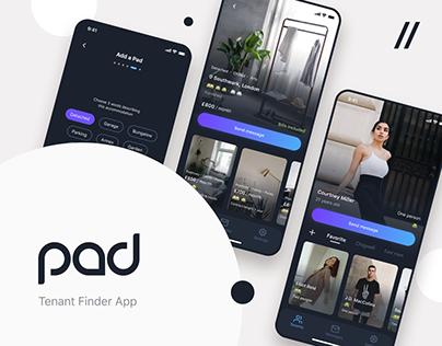 Home rental marketplace   Mobile app UI/UX and Dev