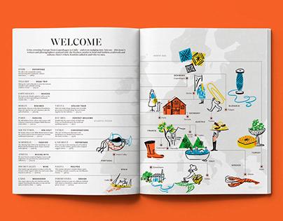 Welcome Map | Konfekt Magazine