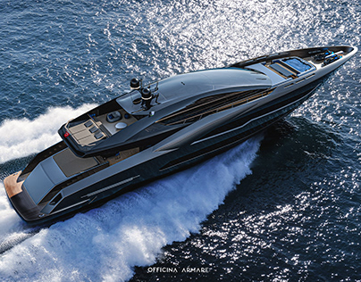 BADGAL SUPERYACHT BY OFFICINA ARMARE
