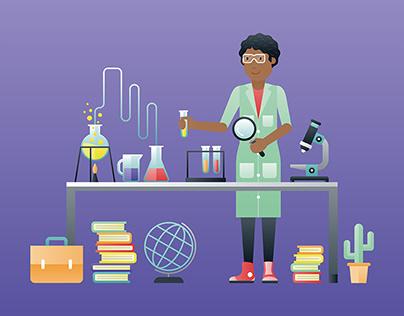 Good Jobs, website illustration