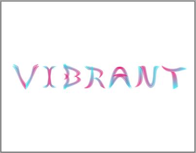 Vibrant Font