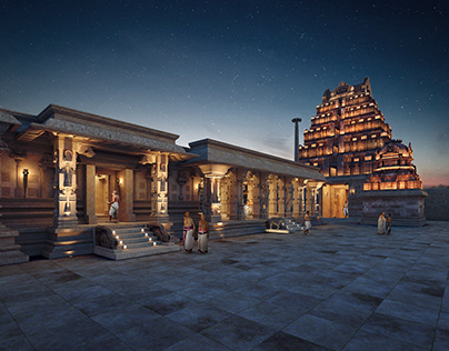 Hampi - Krishna Temple & Bazar