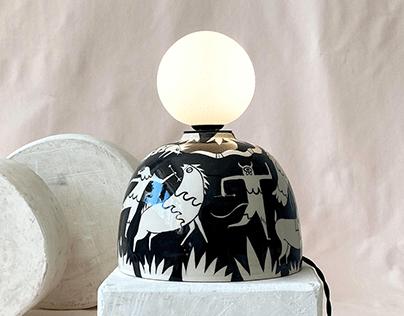 Spring Ceramic Lighting Collection