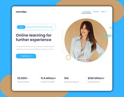 LEARNTIPS - Online Learning website template