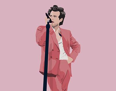 Harry Styles ilustración
