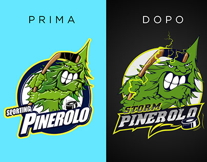 Restyling logo Storm Pinerolo