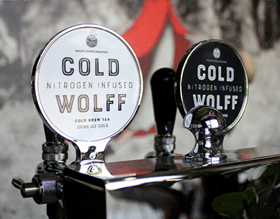 Wolff Coffee Roasters brand identity