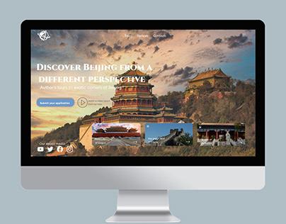 landing Travel Agency