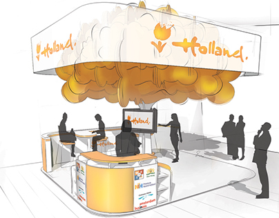 Holland pavillon - Shenzen Tech Fair 2014