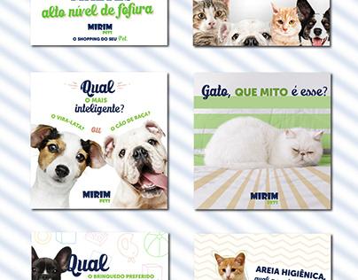 Social Media - Mirim Pets - Maio