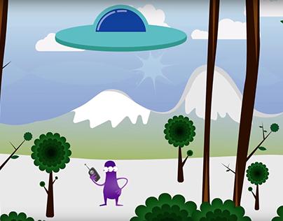 Galaxy Uber - funny alien animation