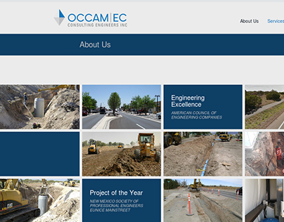 Occam Consulting Engineers Brand Refresh