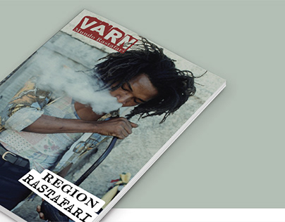 "Editorial Design - Magazine ""VARN"""