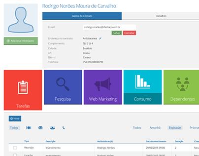 Web app prototype - User Profile