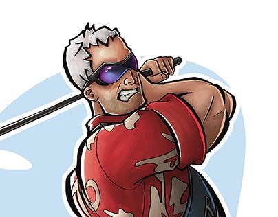 Overwatch Soldier 76 Illustration