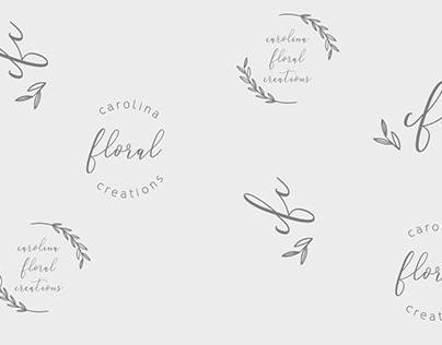 Branding and web design for Carolina Floral Creations