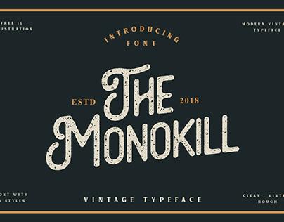 The Monokill Font