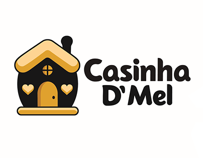 Casinha D' Mel - Visual Identity