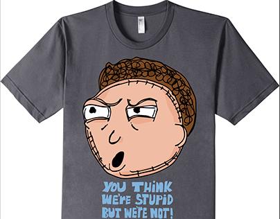 The Rick and Morty Morty Shirt