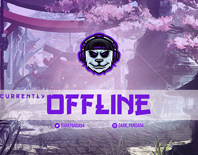 Offline Screen For Twitch Streamer