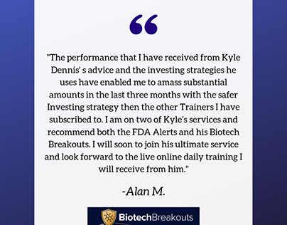 Positive Reviews For Kyle Dennis In Trading