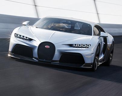Bugatti Chiron Super Sport - High Speed Oval   Full CGI