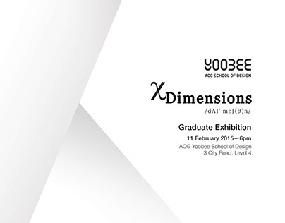 x Dimensions Exhibition