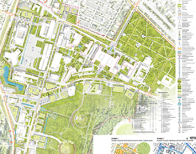 University of Technology in Gdansk campus concept