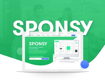 Sponsy (platform to solve problems of the sponsorships)