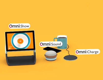 Omni, a smart home solution by Will Wilding-Taylor
