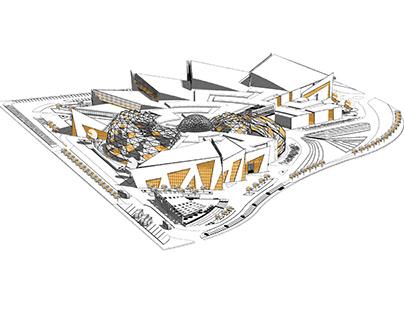 Architectural Space Museum Graduation Project