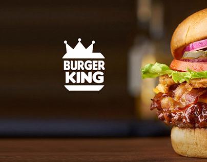 Re-branding Burger King logo