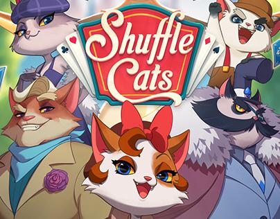 Shuffle Cats Poster