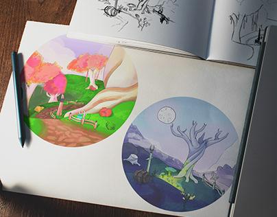 WoW Illustrations