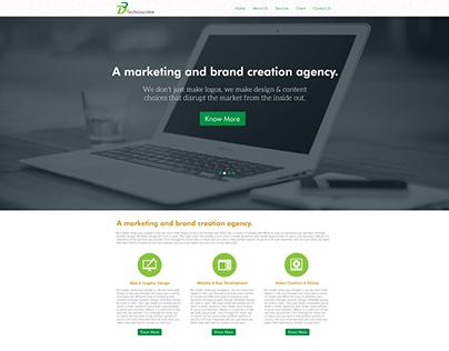 D3Technoststem Website Design