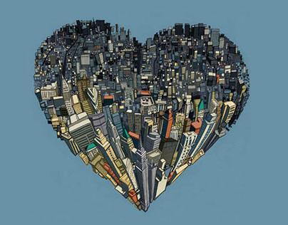 NYC Love Illustration