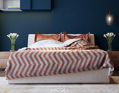 Simple Bedroom at Elmaadi , Cairo