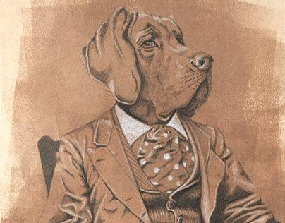 Great Dane Portrait
