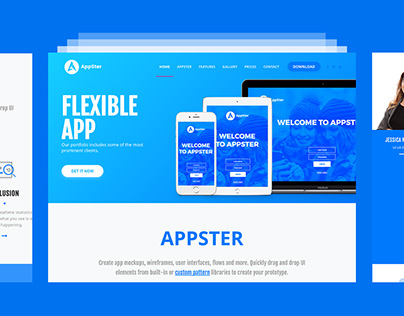 Appster - Mobile App Landing Template
