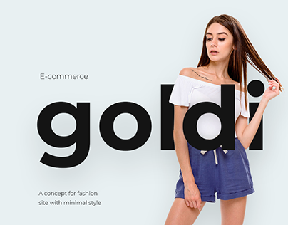 E-Commerce for the Ukrainian Clothing Brand Goldi