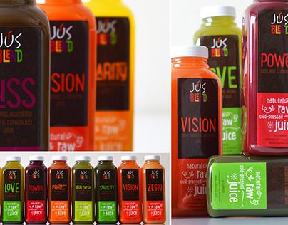 Jus Blend Juice Packaging