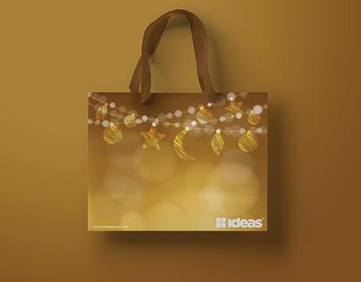 Eid Festive Shopping bag Design for clothing brand