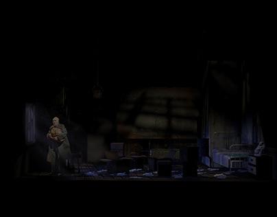 """""""The Caretaker"""" Digital Light Renderings"""