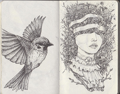 Sketchbook 2012-2013