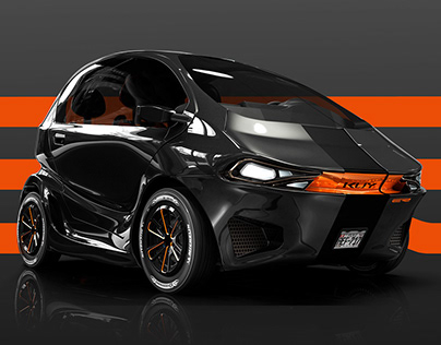 KUY - Folding electric car