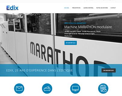 Edix - Brand design